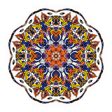 Mandala Round Zentangle Ornament Pattern-Vektor Stockfoto