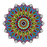 Mandala Round Zentangle Ornament Pattern-Vektor Lizenzfreies Stockfoto