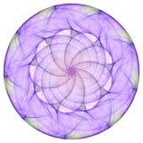 Mandala roxa Imagens de Stock