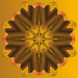 Mandala rundaprydnadmodell, beståndsdel för design Royaltyfria Foton