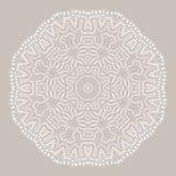 mandala Runde Verzierung der Ethnie Ethnische Art Elemente für Einladungskarte Lizenzfreie Stockbilder