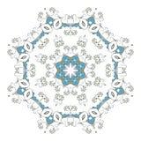 mandala Runde Verzierung der Ethnie Ethnische Art Elemente für Einladungskarte Orientalisches Kreismuster, Spitzehintergrund Stockbilder