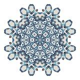 mandala Runde Verzierung der Ethnie Ethnische Art Elemente für Einladungskarte Orientalisches Kreismuster, Spitzehintergrund Stockfotografie