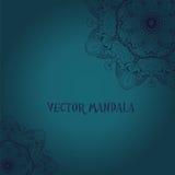 mandala Rundes dekoratives Muster der ethnischen Spitzes Stockfoto