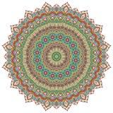 mandala Rundes Verzierungs-Muster Lizenzfreie Stockbilder
