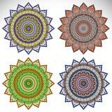 mandala Rundes Verzierungs-Muster Stockfoto
