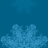 Mandala-rundes Verzierungs-Muster Stockfoto
