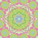 Mandala, símbolo geométrico del universo, yoga de la muestra del chakra Imagenes de archivo