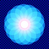 Mandala. Sacred geometry. Flower of life. royalty free illustration