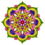 Mandala sagrada de Lotus del cielo Foto de archivo libre de regalías