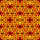 Mandala sans couture de fond Photographie stock libre de droits
