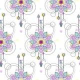 Mandala seamless pattern Royalty Free Stock Photography