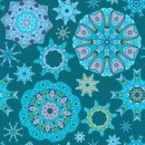 Mandala seamless pattern Stock Photo