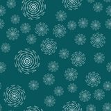 Mandala seamless pattern on a colored background vector illustration