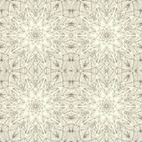 Mandala seamless pattern. Floral ethnic abstract Royalty Free Stock Images