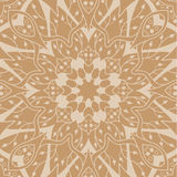 Mandala seamless pattern. Floral ethnic abstract Royalty Free Stock Photo