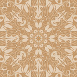 Mandala seamless pattern. Floral ethnic abstract Royalty Free Stock Image