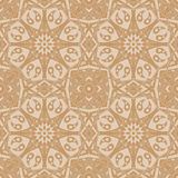 Mandala seamless pattern. Floral ethnic abstract Stock Photography