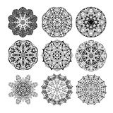 Mandala seamless pattern. Floral ethnic abstract Stock Images