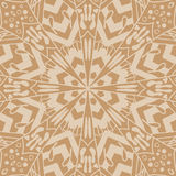 Mandala seamless pattern. Floral ethnic abstract Royalty Free Stock Photography