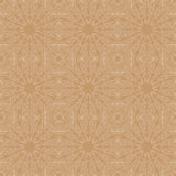 Mandala seamless pattern. Floral ethnic abstract Stock Image