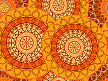 Mandala seamless pattern. Geometric pattern in Buddhist and Hindu style. Stock Photography