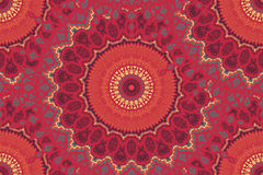 Mandala Seamless Pattern Royalty Free Stock Images