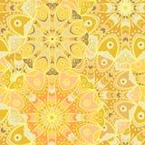 Mandala seamless pattern Royalty Free Stock Photos
