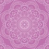Mandala seamless pattern Royalty Free Stock Photography