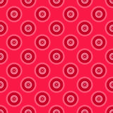 Mandala seamless pattern. On a red background royalty free illustration