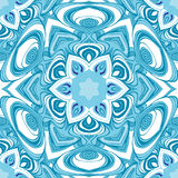 Mandala  seamless pattern. Vector image Royalty Free Stock Photos