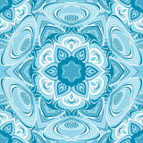 Mandala  seamless pattern. Vector image Royalty Free Illustration