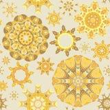 Mandala seamless pattern Stock Photography