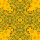 Mandala Seamless Print abstracta Fotos de archivo libres de regalías