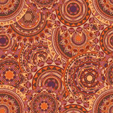 Mandala seamless vector patterns Royalty Free Stock Photos