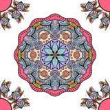 Mandala sem emenda do ornamento ilustração royalty free