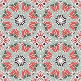 Mandala sem emenda do teste padrão do vintage Fotografia de Stock Royalty Free