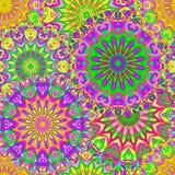 Mandala senza cuciture variopinta del modello Fotografia Stock Libera da Diritti