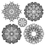 Mandala set. Royalty Free Stock Image