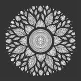 Mandala, simbolo geometrico dell'universo, yoga del modello di chakra Fotografia Stock