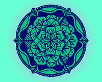 Mandala. Simple mandala Ornament for background or decoration Stock Image