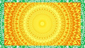 Mandala. Slideshow, collection of mandalas. Spiritual symbol, circular ornament. stock video footage