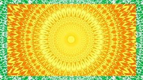 mandala Slideshow, inzameling van mandalas Geestelijk symbool, cirkelornament stock videobeelden