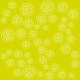 Mandala snowflakes Royalty Free Stock Image