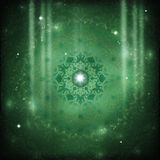 Mandala starseed Stock Photography