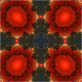 Mandala. Strawberry  abstract background Stock Images