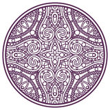 Mandala stroke Royalty Free Stock Images