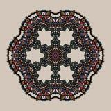 Mandala Stylized tribal art Ornate lace medallion Royalty Free Stock Photos