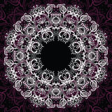 Mandala. Sun pattern Royalty Free Stock Images
