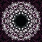Mandala. Sun pattern. Hand drawn Mandala Sun. Beautiful Indian decorative pattern Royalty Free Stock Images